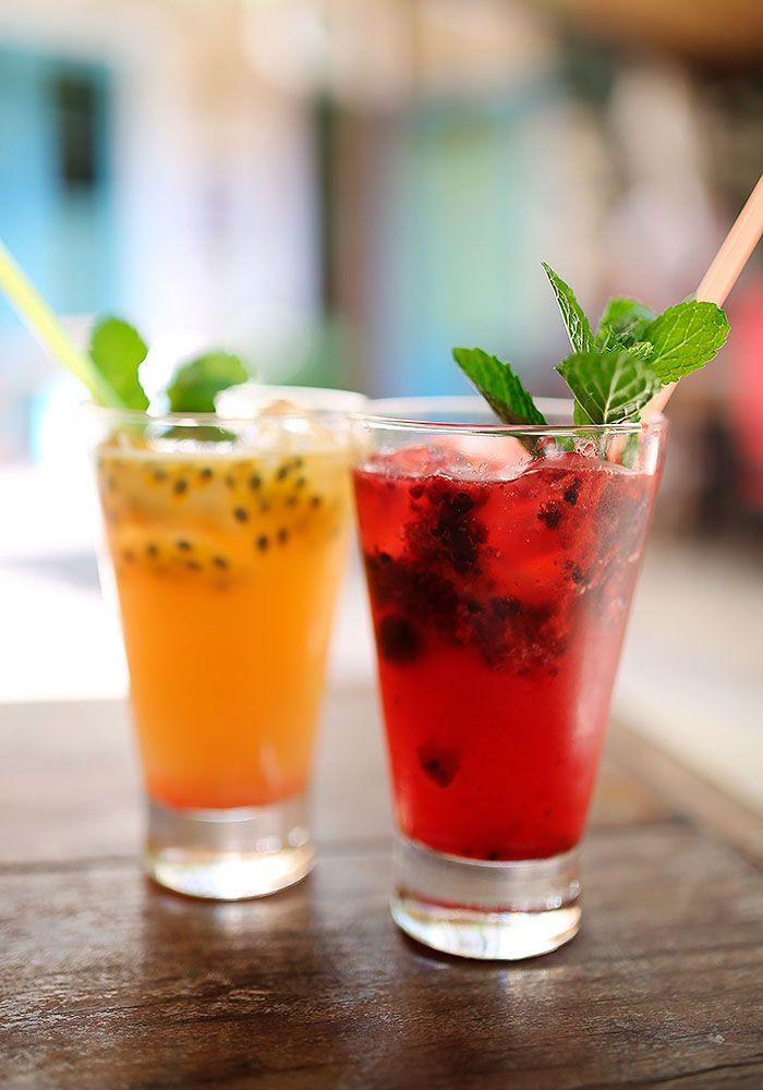 Soft drink de frutas vermelhas | Just Lia