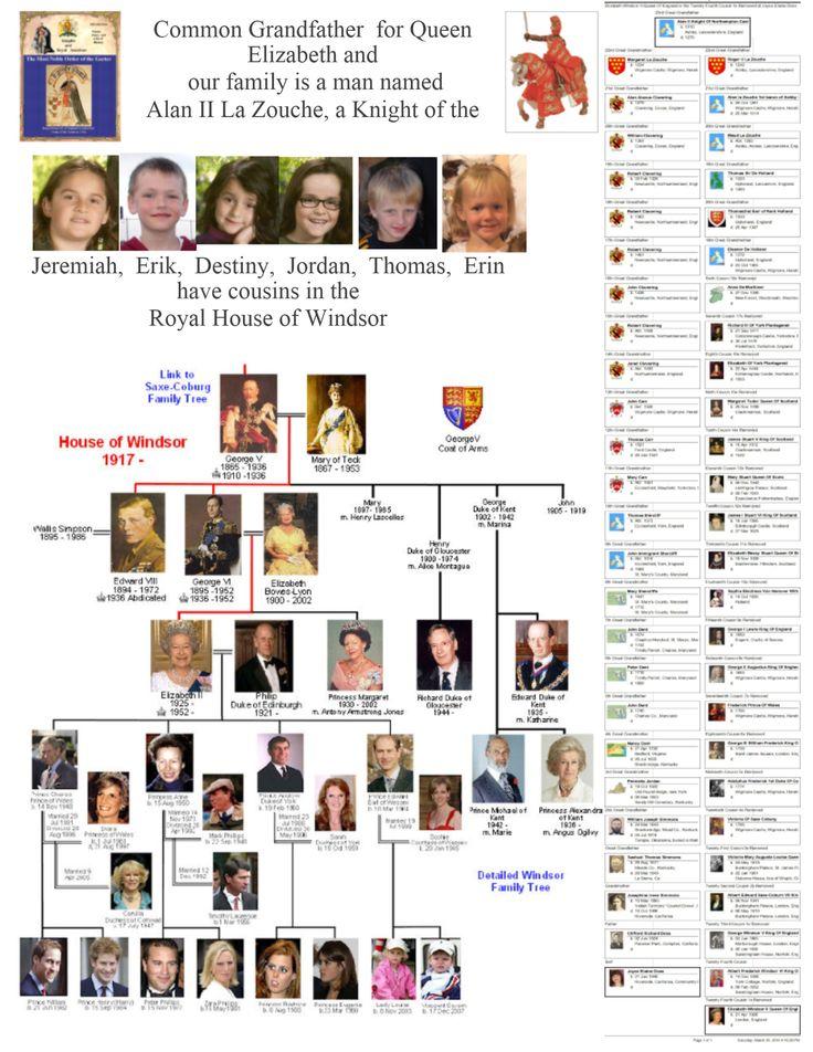 best genealogy history images european  1917 2010 royal house of windsor