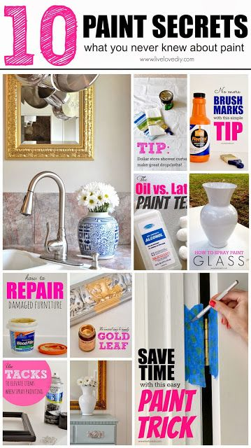 10 Paint Secrets (PART THREE!): what you never knew about paint.