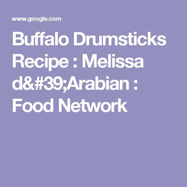 Buffalo Drumsticks Recipe : Melissa d'Arabian : Food Network