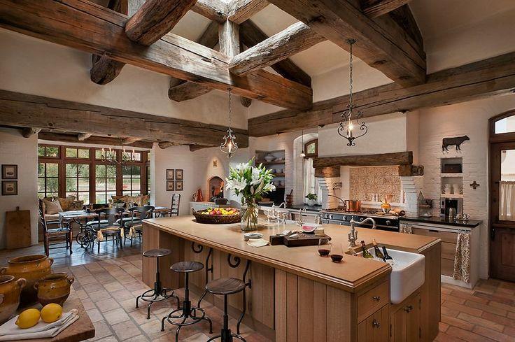 Rusztikus francia vidéki otthon - Arizonában, Higgins Architects