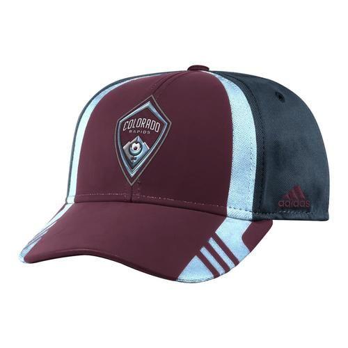 Colorado Rapids Men's Adidas Structured Adjustable Hat