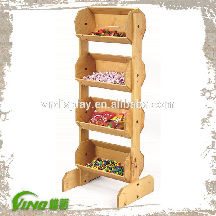 Supermercado de frutas y verduras de madera display rack-imagen-Estantes de Expositor-Identificación del producto:60283348637-spanish.alibaba.com