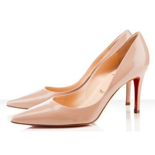 lowest price 3b4c0 28323 Chaussure Louboutin Pas Cher Escarpin New Decoltissimo 85mm ...