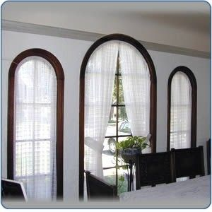 Pictures Of Arched Window Coverings Browse Blinds Project Need For Bathroom So I Can See To Get Ready N Morning Curve Windows Are Ha