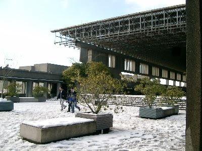 SFU in Winter