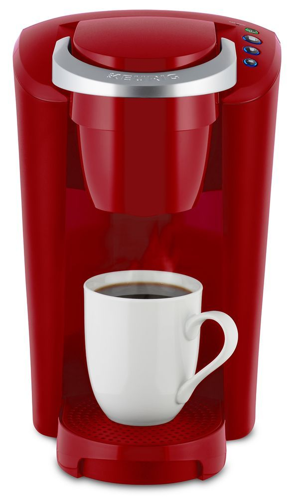 Single Serve Coffee Maker Kcup Pod Machine One Cup Serving Home Office Red New Keurig With Images Single Coffee Maker Keurig K Cup Coffee Maker
