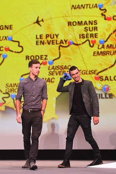 104th Tour de France 2017 / Presentation Adam YATES / Julian ALAPHILIPPE / Le Palais des Congres / Presentation TDF / ©Tim De Waele