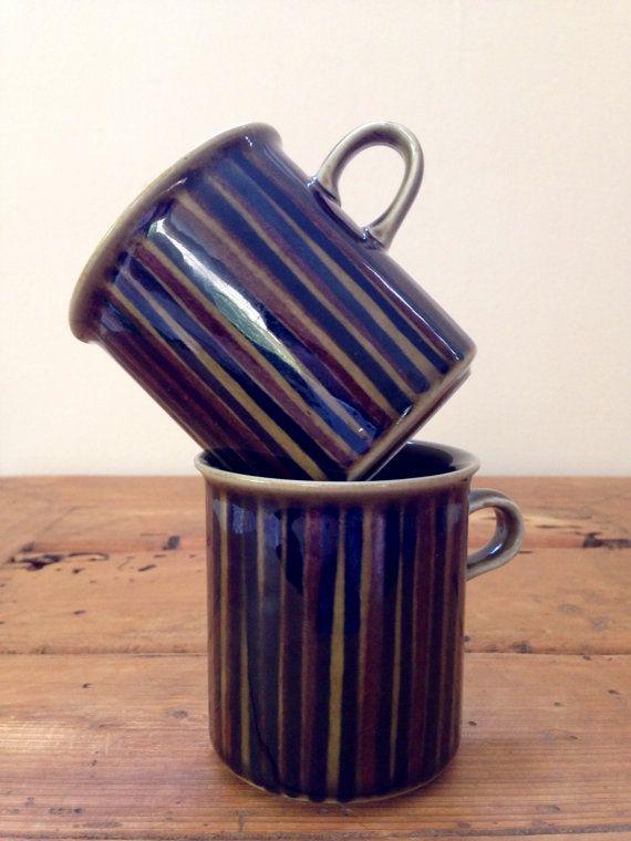 Set Of 2 Vintage Kosmos Arabia Finland Coffee by HeritageLocal