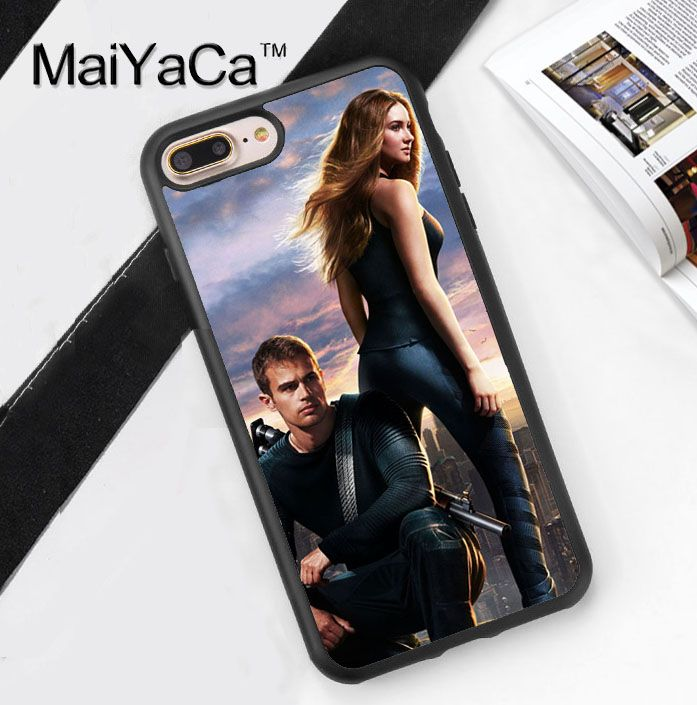 Divergent Movie Characters Design Soft Rubber Phone Case Coque For iPhone 6 6S Plus 7 7 Plus 5 5S 5C SE 4 4S Back Cover Shell