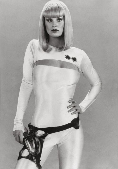 Dorothy Stratten as Galaxina, 1980