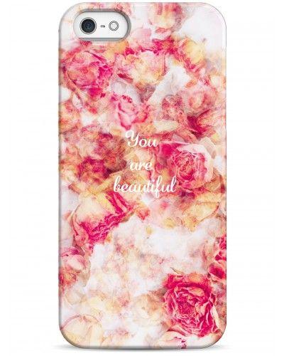 You are beautiful - iPhone 5 / 5S / 5C Дизайнерские чехлы для iPhone #чехлы для iPhone