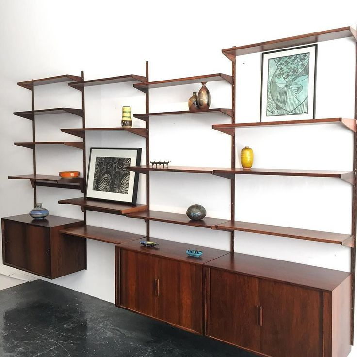 20cmodern Just In 4 Bay Kai Kristiansen Rosewood Wall Unit By UnitsDanish ModernScandinavian Design