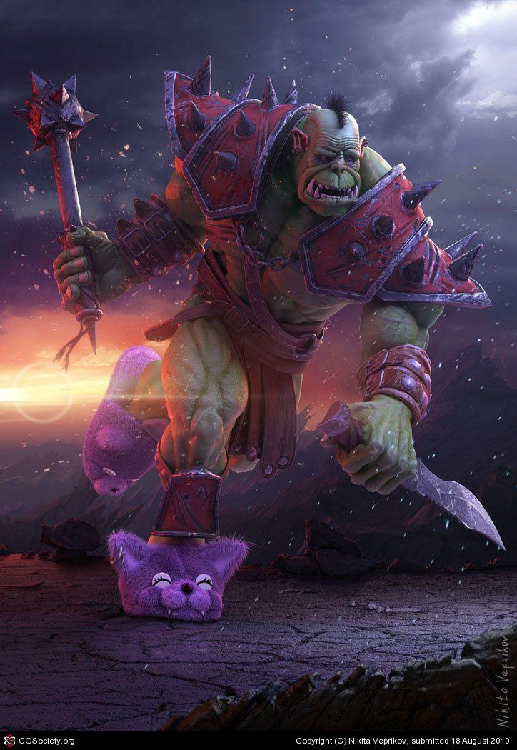 Orc by Nikita Veprikov | 3D | CGSociety