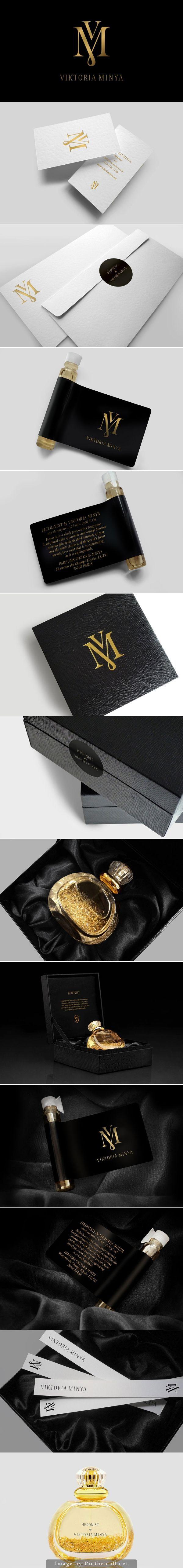 Viktoria Minya Perfume Branding