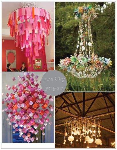 84 best paper chandelier images on pinterest creativity paper incredible ideas for paper chandeliers aloadofball Gallery