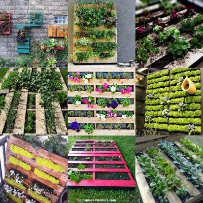 vertical garden examples and planters from reclaimed wood on inventive ideas to utilize reclaimed wood pallet projects all you must to know id=77185