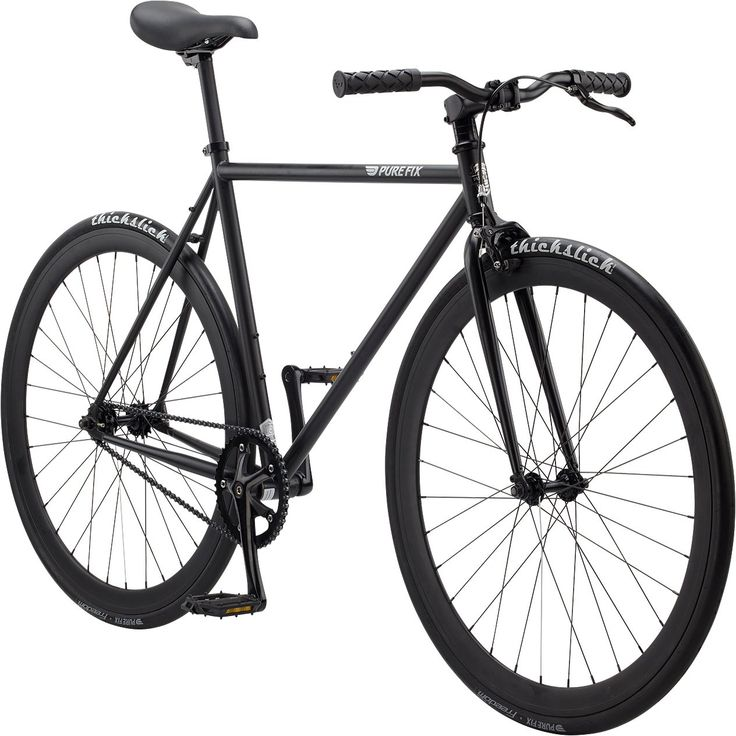 Pure Fix Original Fixed Gear Single Speed Bicycle, Juliet Matte Black, 47cm/X-Small