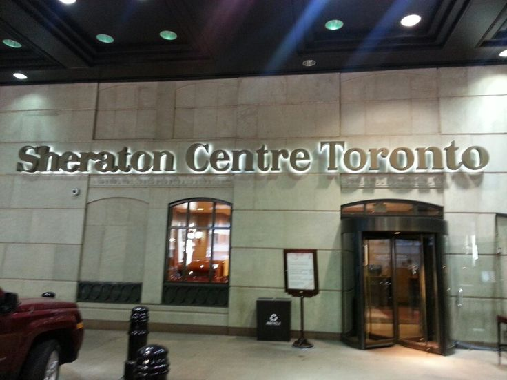 Sheraton Centre Toronto Hotel in Toronto, ON  You are here!