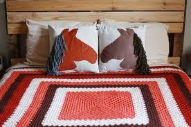 diy throw pillows  - Brooke's horse theme bedroom