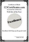 printable award templates