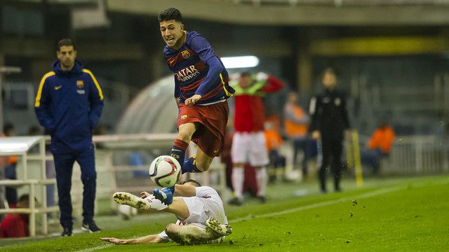 FC Barcelona B v Huracán: Good football little reward (1-1)