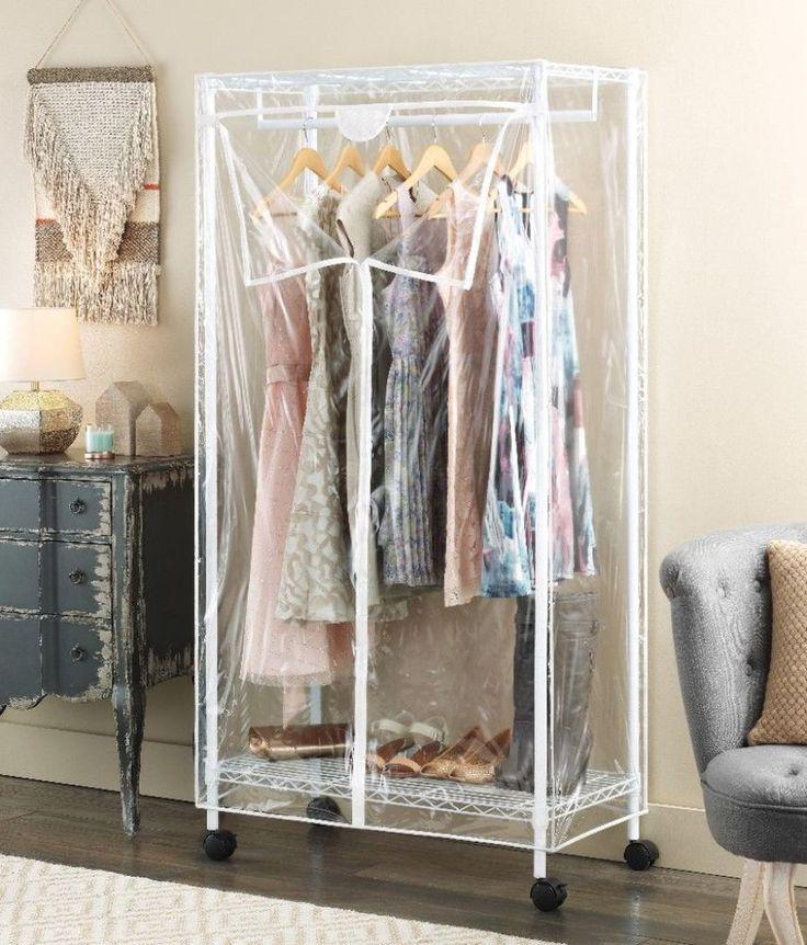 Whitmor Supreme 36-Inch Clothes Closet Portable Wardrobe Heavy-Duty New #Whitmor