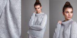 Модный свитер из коллекции 2018 года