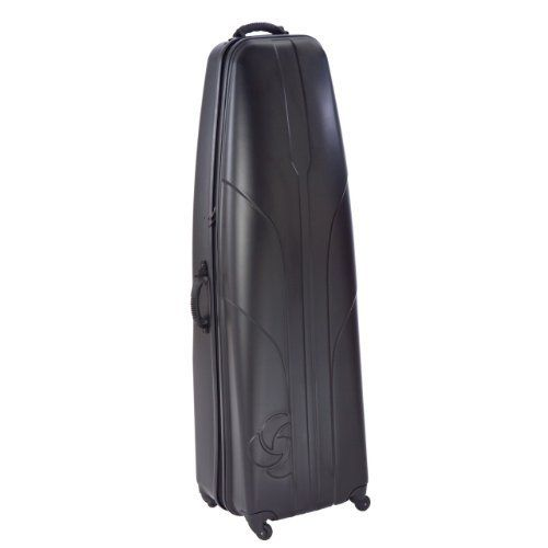 Samsonite Hardside Golf Travel Case (Black, 54-Inch) by Samsonite. $169.90. Amazon.com                Travel the world worry-free with the Samsonite Hard-Sided Golf Travel Cover. This hard-sided case boasts a durable yet lightweight solid ABS Shell that will shield your golf bag and clubs from the abuse of air travel. Measuring 54 x 16 x 12 inches, the cover can accommodate larger 10.5-inch top golf bags with longer, 48-inch clubs. The bag features a padded quilted ...