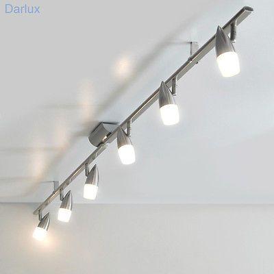 Ceiling Light Ceiling Lamp Eglo 5.90 Ft. Spot Light Railing Halogen, LED New