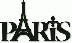 Silhouette Online Store - View Design #39342: paris phrase