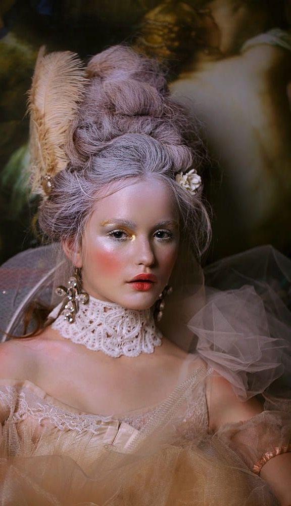 Photoshoot Inspiration, Makeup Inspiration, Renaissance Makeup, Renaissance Dresses, Victorian Makeup, Marie Antoinette Costume, Marie Antoinette Movie, Rodney Smith, Rococo Fashion