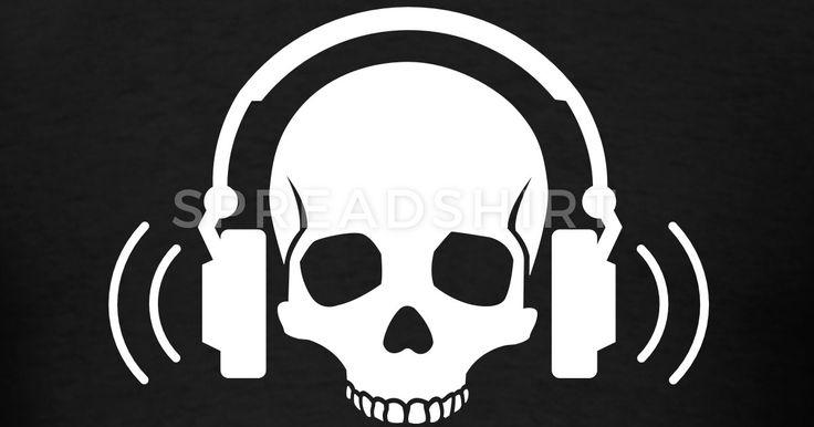 Image result for skull headphone