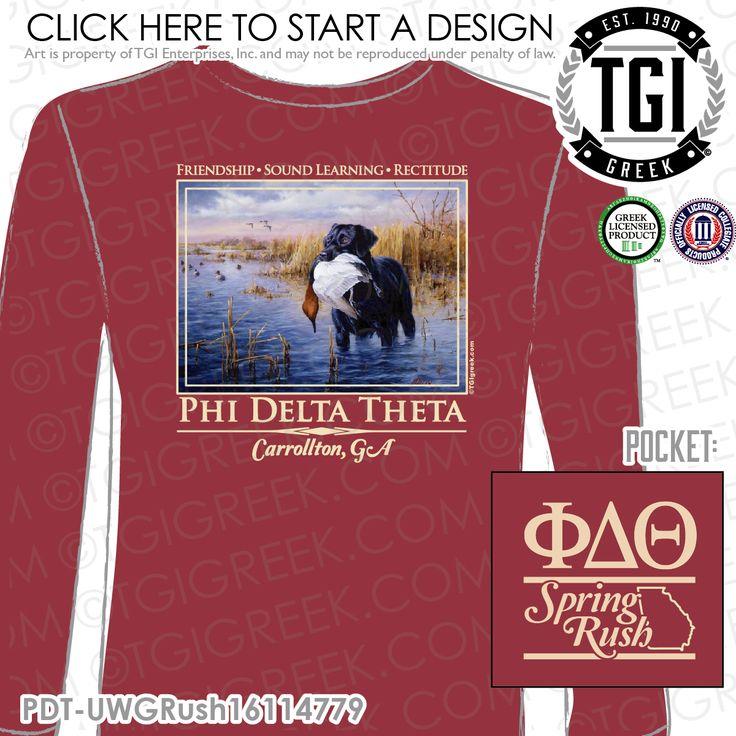 148 best phi delta theta images on pinterest greek for Rush custom t shirts