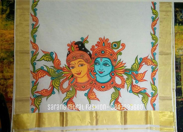 591 best images about mural on pinterest peacocks for Aithihya mural painting fabrics