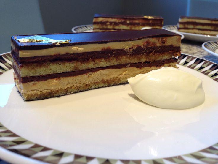 Cake Recipes In Pinterest: Opera Cake (masterchef Australia Recipe)