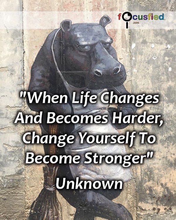 how to become stronger in life