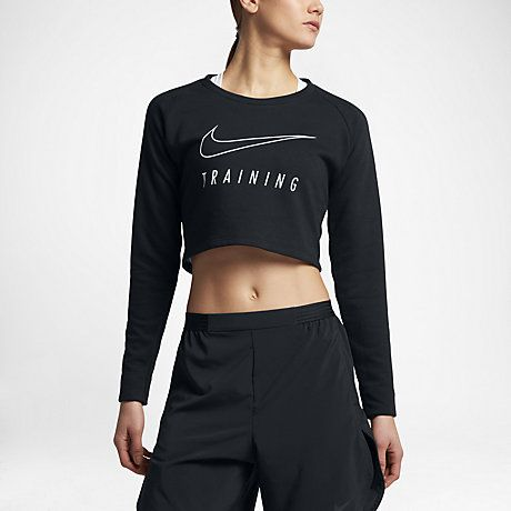 Nike Dry Women's Long-Sleeve Training Top  #Nike