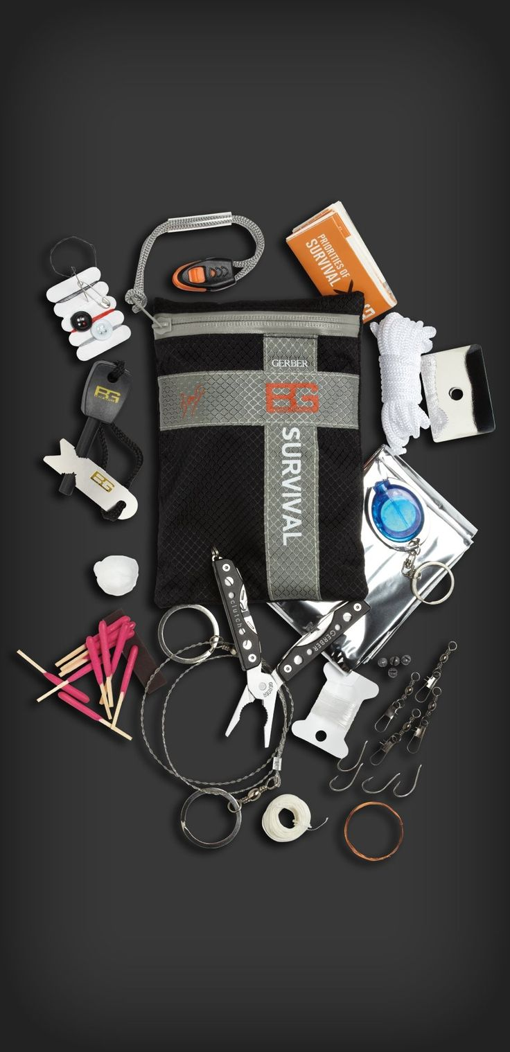 Bear Grylls Ultimate Kit - if it's the ultimate kit, why does he have to drink his urine so often?  Ultimate fail!