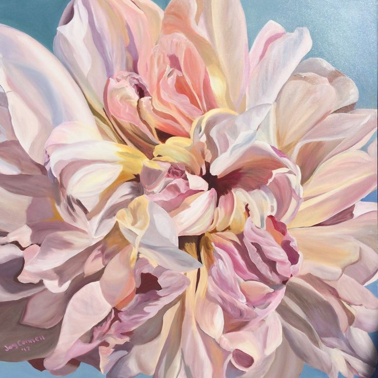 """Creamy Blush"" by Joy Connell. Paintings for Sale. Bluethumb - Online Art Gallery"