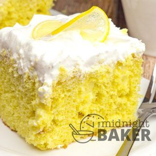 """Here's a poke cake for lemon lovers! Delicious lemon cake infused with a bright and tart lemonade cream pudding. Poke Cake For Lemon Lovers Do you love lemon? This one's for you! It's the """"filling"""" that makes this poke cake special and so intensely lemony. Lemon Pudding Intensified With a few simple additions, instant lemon...Read More »"""