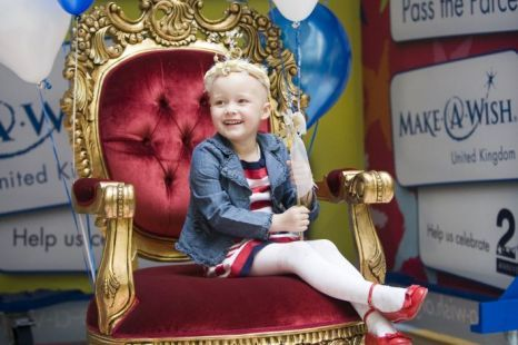 make a wish foundation | Make-A-Wish Foundation brought a smile to Lois Ladkin-Brown's face ...