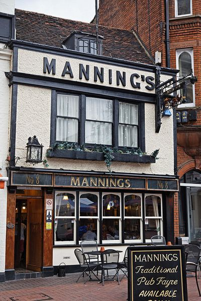 I had to put this in! This is my favourite pub where I live in Ipswich!