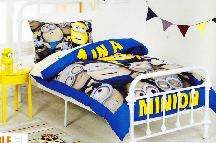 Licensed Despicable Me MINION SINGLE or  DOUBLE Duvet/Doona/Quilt Cover SET BNIP  | eBay