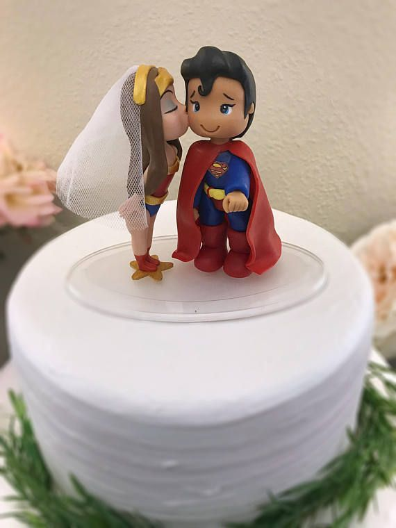 superman and superwoman wedding cake topper best 25 superman cake topper ideas on 20613