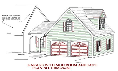 2nd Garage addition option