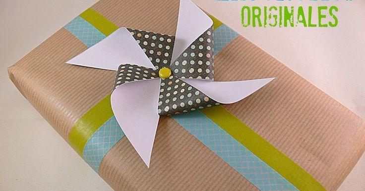 Manualidades y tendencias: Envoltorios de #regalo originales / Original gift #packaging www.manualidadesytendencias.com #giftpackaging #giftwrapping #embalaje #envoltorio