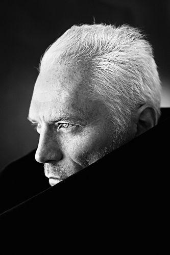 ♂ Man portrait black & white