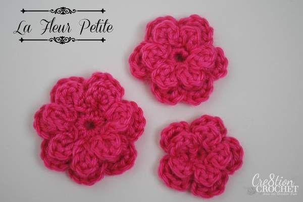 124 best Crochet Flowers images on Pinterest | Crocheted flowers ...
