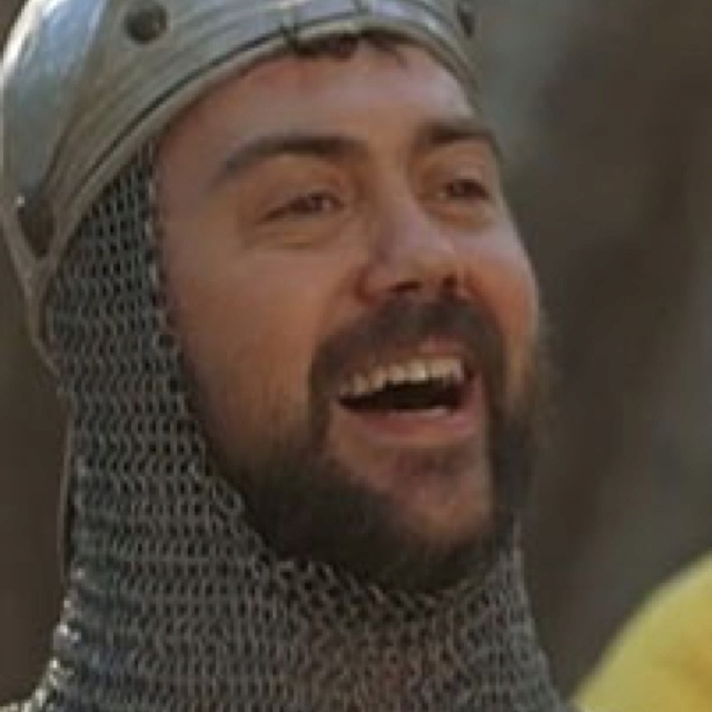"""Keep your sword sharp, and your wits sharper!"" Joe Lo Truglio"